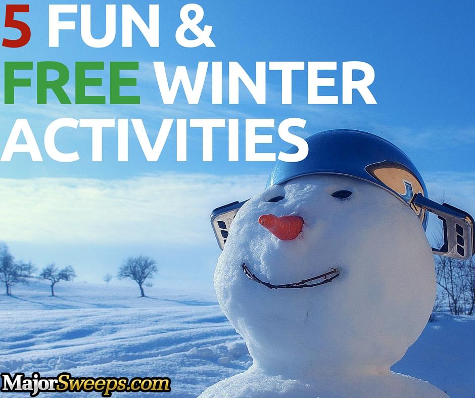 fun free winter activities majorsweeps blog fb