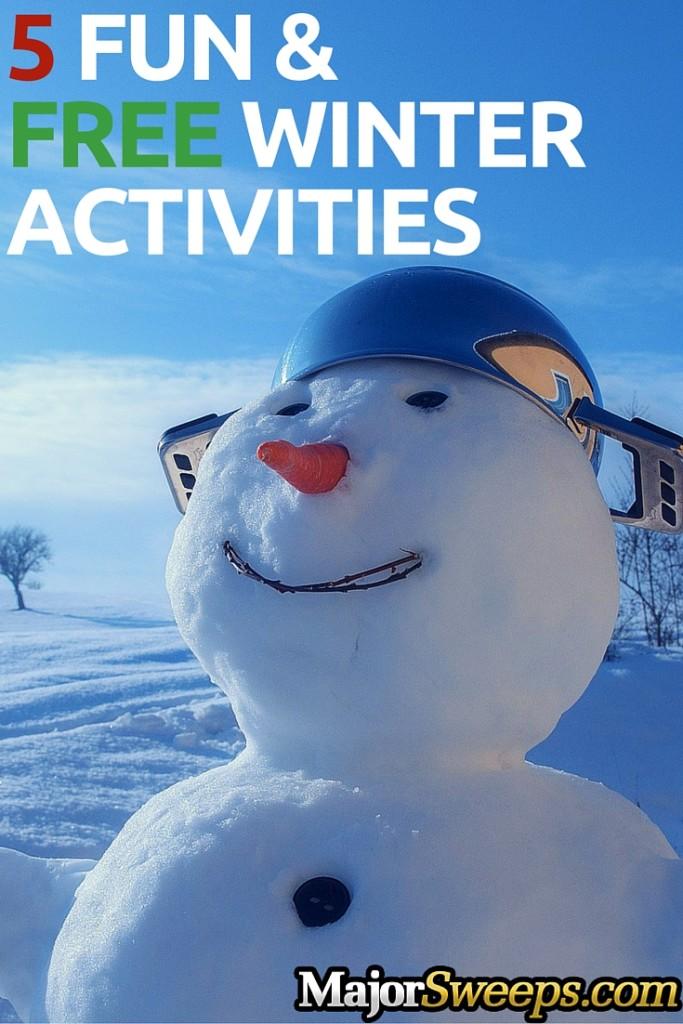 fun free winter activities majorsweeps blog pint