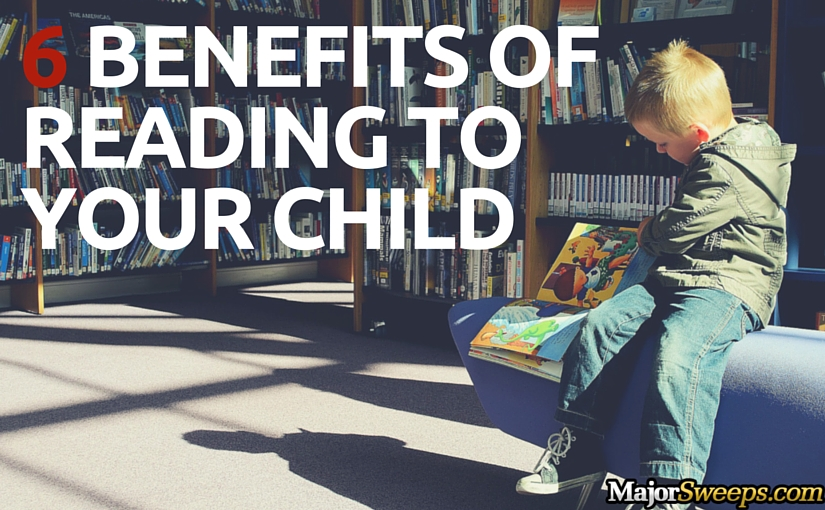 6 Benefits of Reading to Your Child