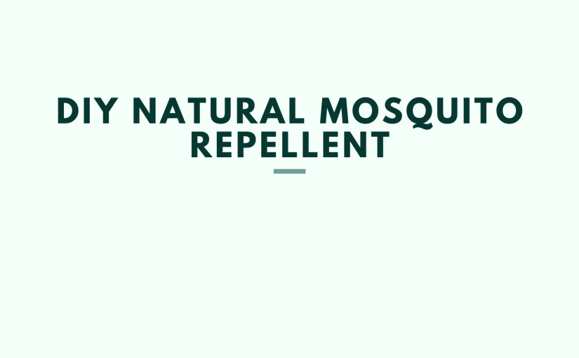 DIY Natural Mosquito Repellent